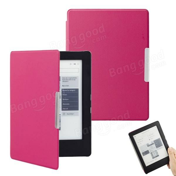 Housse Kobo Aura H2o Edition 2 Of Magnetic Auto Sleep Pu Leather Smart Case Cover For Kobo