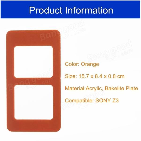 ソニーXperia Z3のためのUV接着剤の整列金型LCDの外側ガラス金型