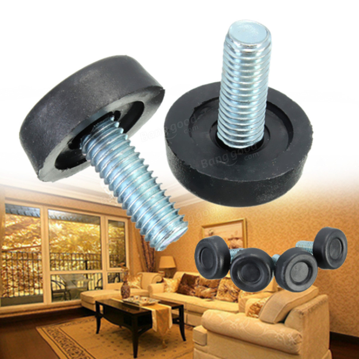 M8x20mm Thread Table Desk Adjustable Levelling Furniture Foot Screw Sale Sold Out