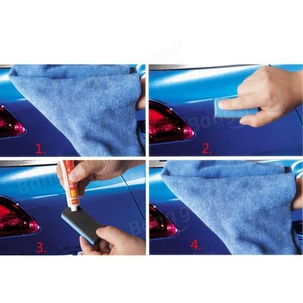 Car Polishing Sponge Brush Paint Care Abrasive Paste Scratch Remover Repair Tool