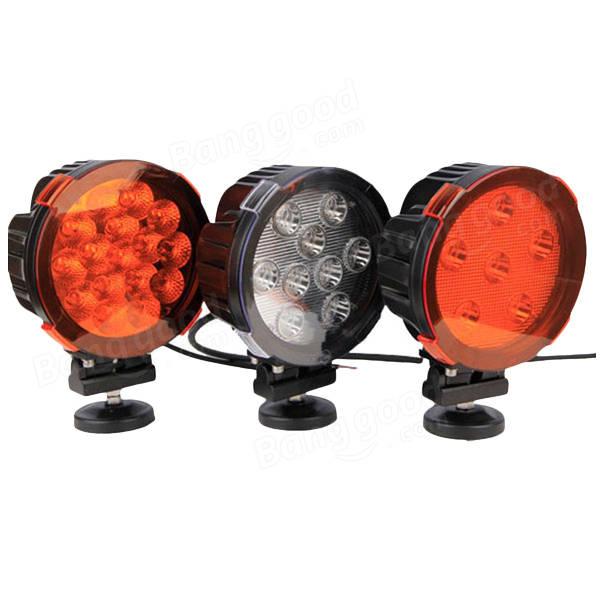 90W 10800LM LEDワークライト6000Kコンボスポット洪水SUV車用車OVOVS OL-090ランプシェードなし