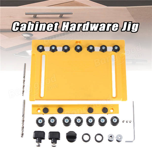 Cabinet Hardware Jig Drawer Slide Mounting Tool Hinge Jig For Woodworking