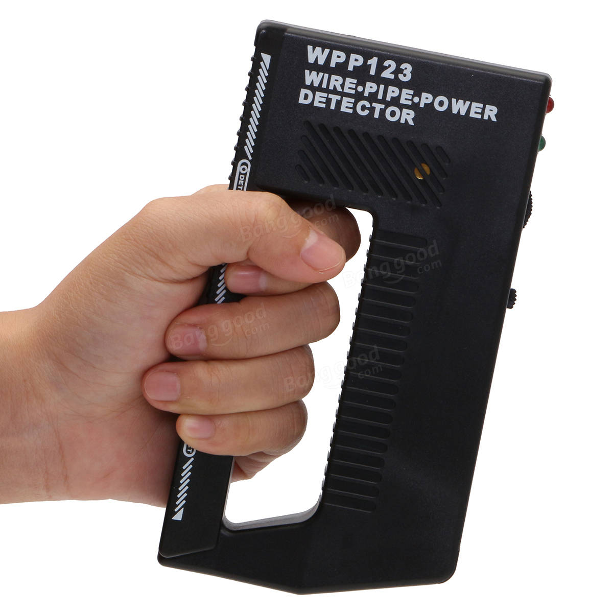 Handheld WPP123 Metal Detector Wall Wire Pipe Power Audible Alarm Scanner Tool