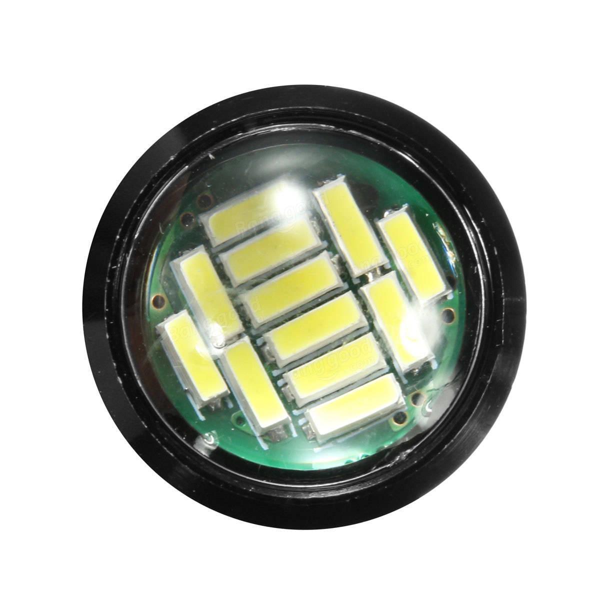 12-4014-SMD LEDイーグルアイ昼間走行ブレーキライトターンシグナルランプ