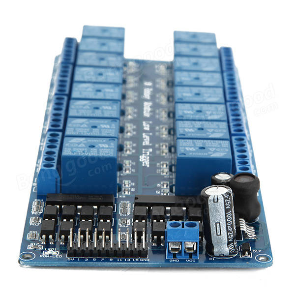 16 Relay Trigger 12V LM2596 Power Control Module with Optocoupler Protection