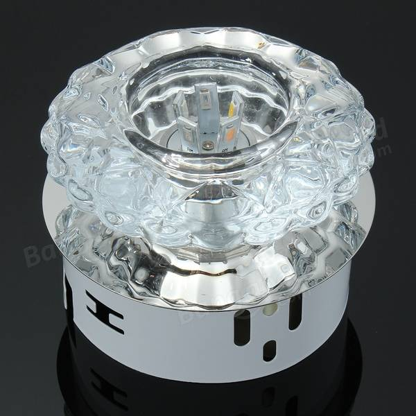 Crystal Ceiling Lights Nz : Modern w crystal ceiling light fixture surface mounted