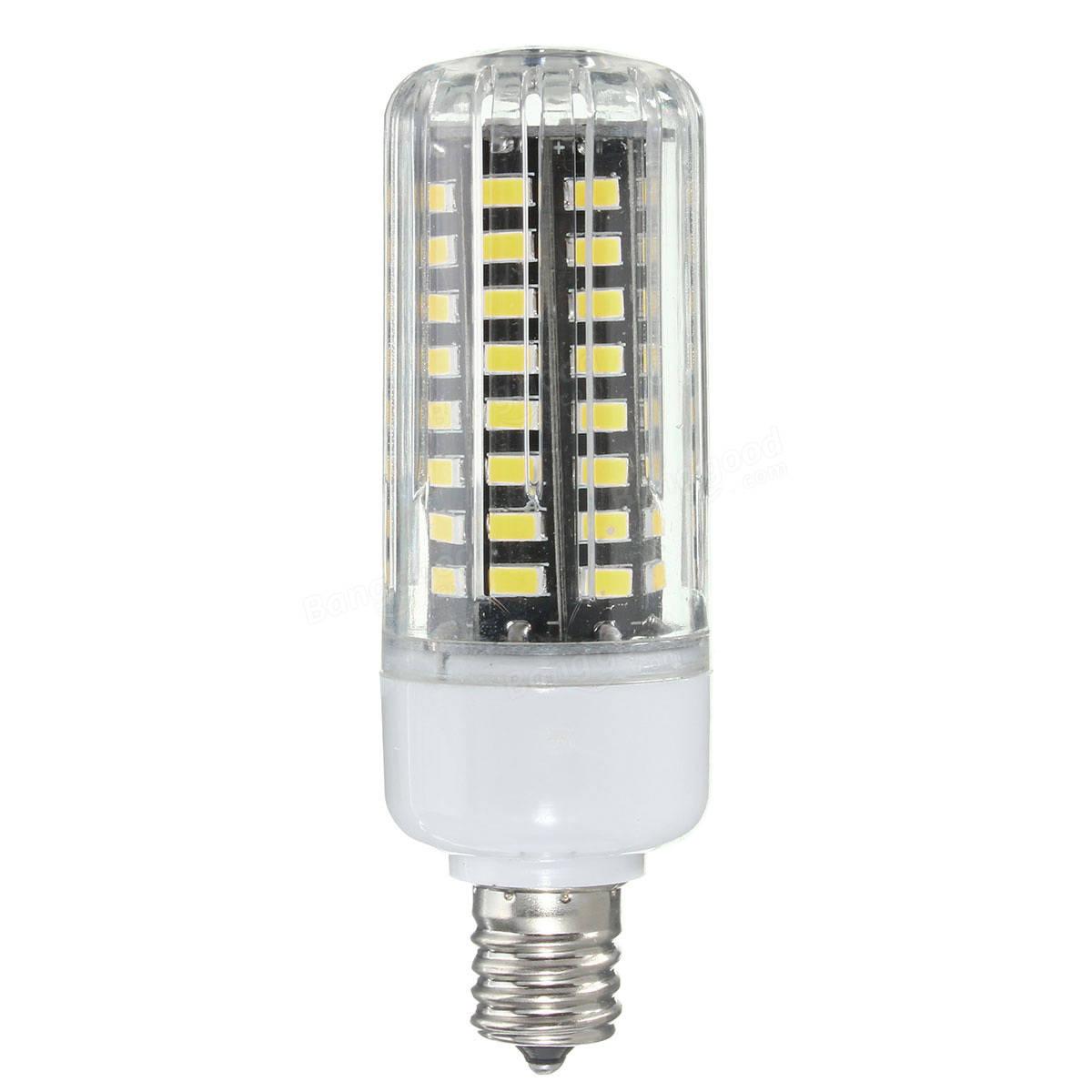 E27 E14 E12 E17 GU10 B22 LED Corn Bulb 7W 72 SMD 5736 LED