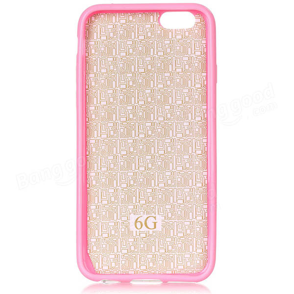 Fashion Pattern Glasses Dog Creative Back Holder Protector Case For iPhone 6 6s