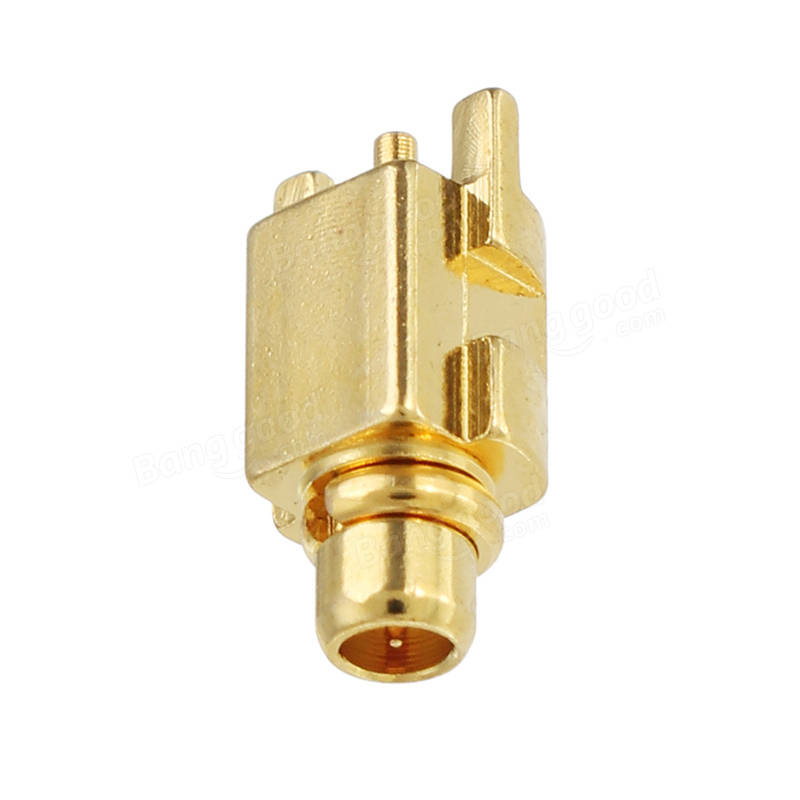 2PCS MMCX-JEF RF Coaxial Connector SMA Male For FPV RC Drone