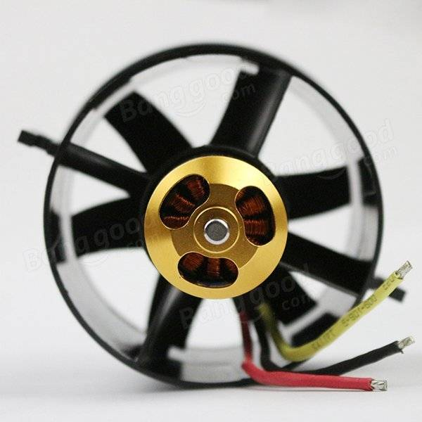 QX-Motor 70mm 6 Blades EDF Unit With QF2827 2300KV/3500KV Brushless Motor
