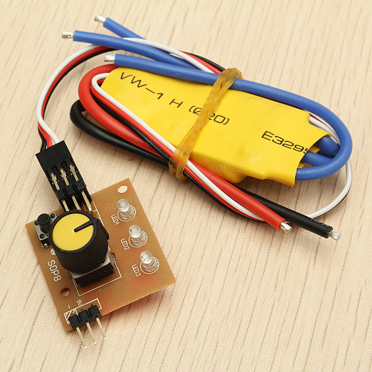 Original 360w 30a high power 12v dc 3 phase brushless for Three phase motor speed control