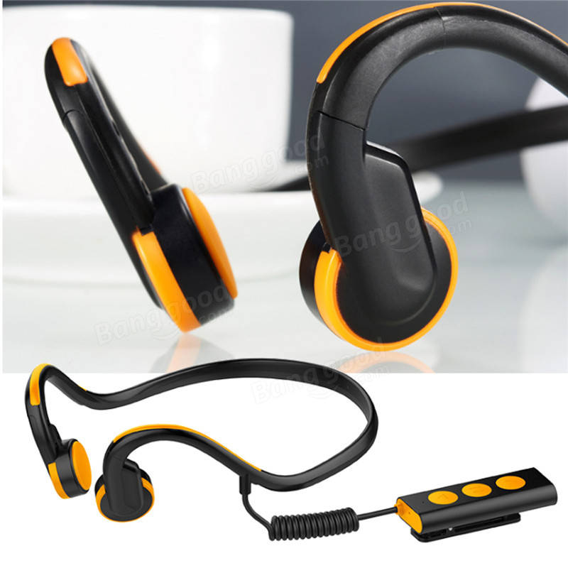 Bluetooth Bone Conduction Stereo Open Ear Headphones Headset Earphone Sports For Tablet
