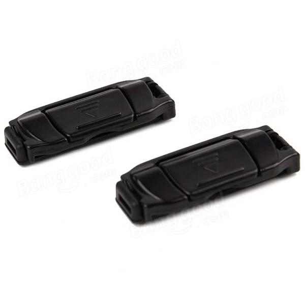 2pcs Hypersonic Car Seat Belt Clips Adjustment Belt Buckles HP-2538