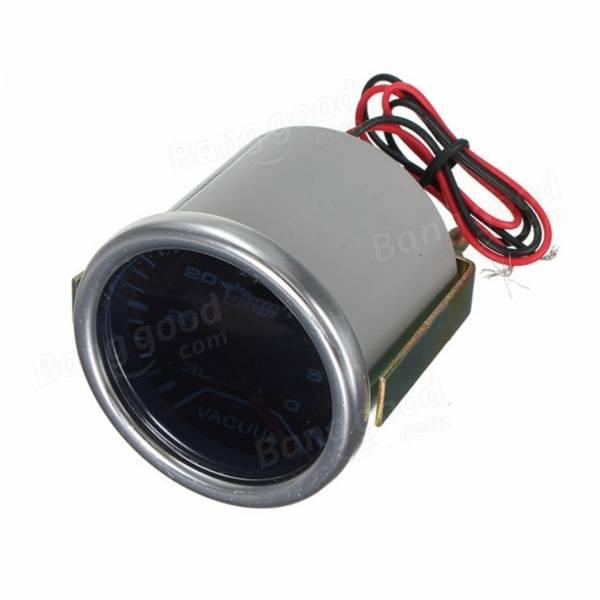 Bar Turbo Indicator Boost Vacuum Car Auto LED Gauge Smoke Len