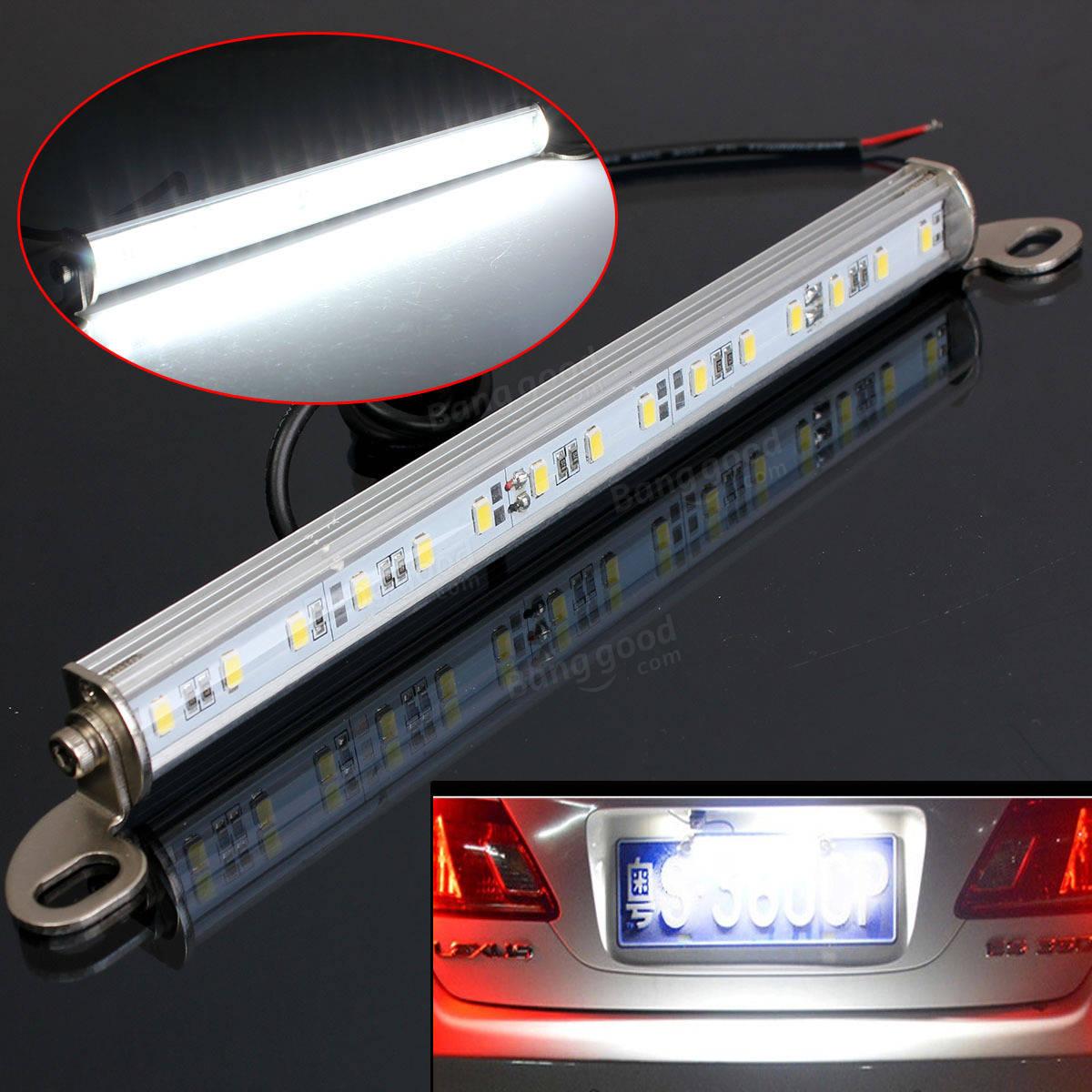 車のバントラックトレーラー15 LEDライセンス番号プレートバックアップランプのライトボルト