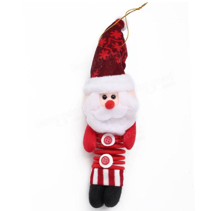 20cm pata del resorte oscilaci n mu eca navidad ornamentos - Ornamentos de navidad ...