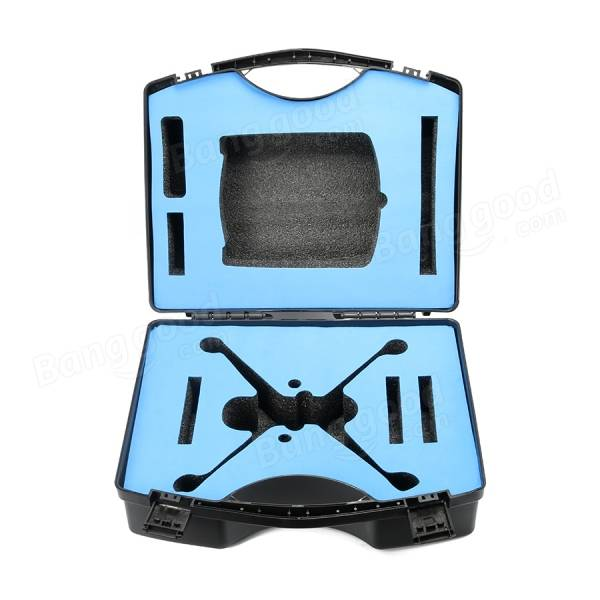 Realacc Plastic Suitcase Handle Box Case For Hubsan H501S RC Quadcopter