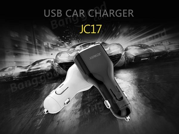 Universal 5A 3USB JC17 Car Charger Quickly Charger Phone Quickly Charger