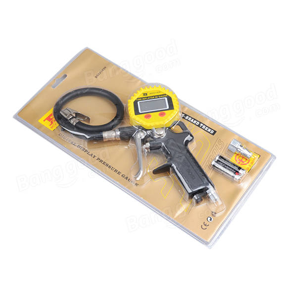 Tyre Meter Tire Air Pressure Test Monitoring High Accurate Unit