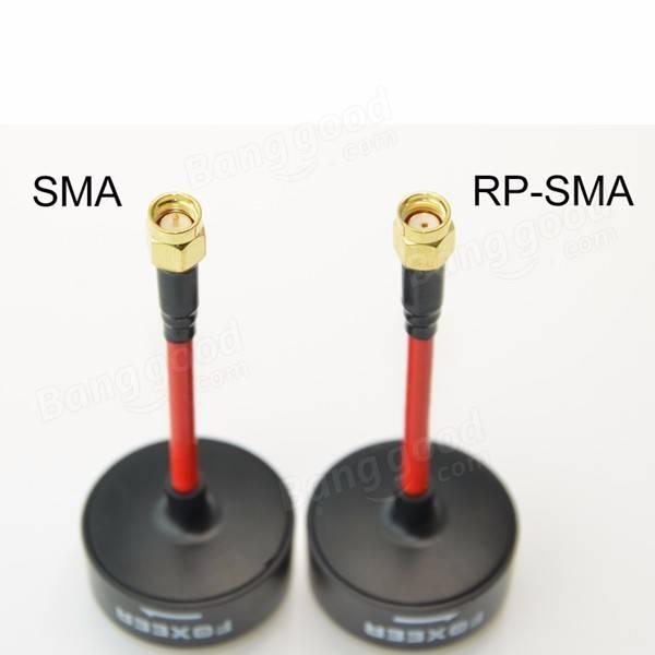 Foxeer 5.8G 3dBi TX/RX RHCPOmniFPV Antenna RP-SMA/SMA