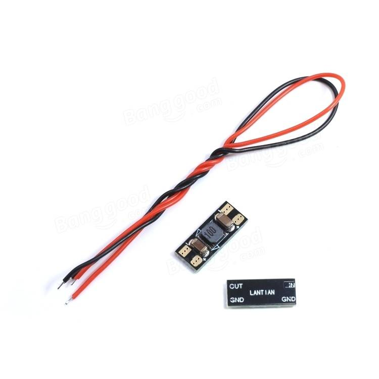 LANTIAN LC Filter Module DC Power Video Signal Wave Filter 1S-6S For FPV System RC Drone