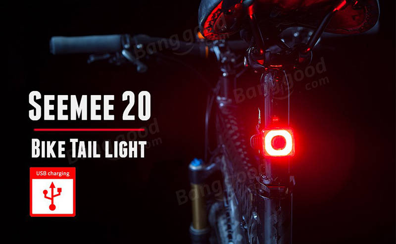 Magicshine Seemee 20 Mini Bike Taillight 20 Lumens Bike Blinker USB Rechargeable Cycling Bike Light