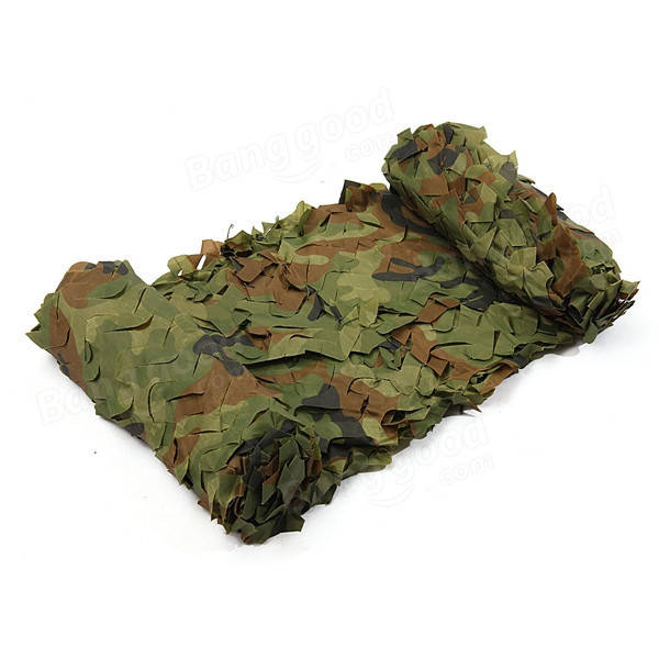 5mx2m Camo Net Camouflage Sunscreen Cover For Car Cover Camping Military Hunting Shooting Hide