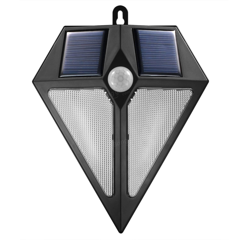 Outdoor Wall Lamp Motion Led Sweden Dark Grey : Outdoor Diamond Shaped 6LEDs Solar Powered PIR Motion Sensor Light Wall Lamp Sale - Banggood.com ...