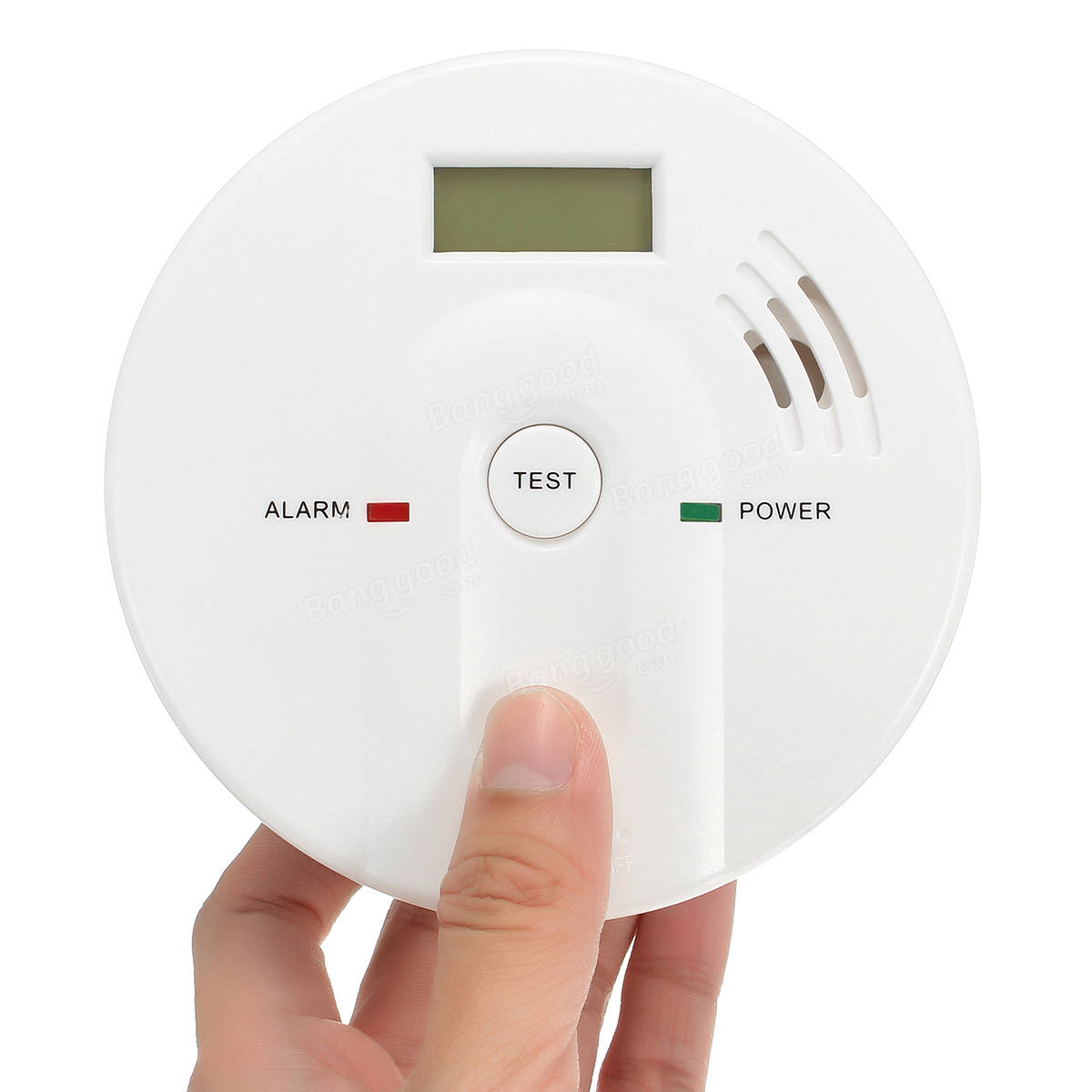 HQ Smoke Fire Alarm Sensor Detector Security System for Home Kitchen Bedroom
