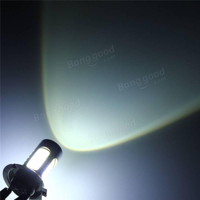 ヒュンダイジェネシスソナタデイタイムランニングライトのためのクールホワイトH7 LED電球