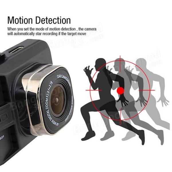 FH06H 2 Inch 170° フルHD 1080p車カメラビデオレコーダーダッシュカメラ監視ナイトビジョン