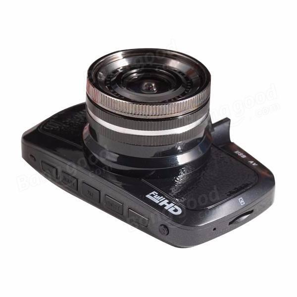 2.7 Inch Mini Car DVR Dash Cam NTK96650 170 Degrees HD 1080P with G-Sonser