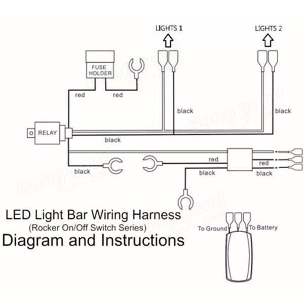 wiring harness diagram for led light bar wiring diagram and hernes wiring harness diagram for led light bar ewiring