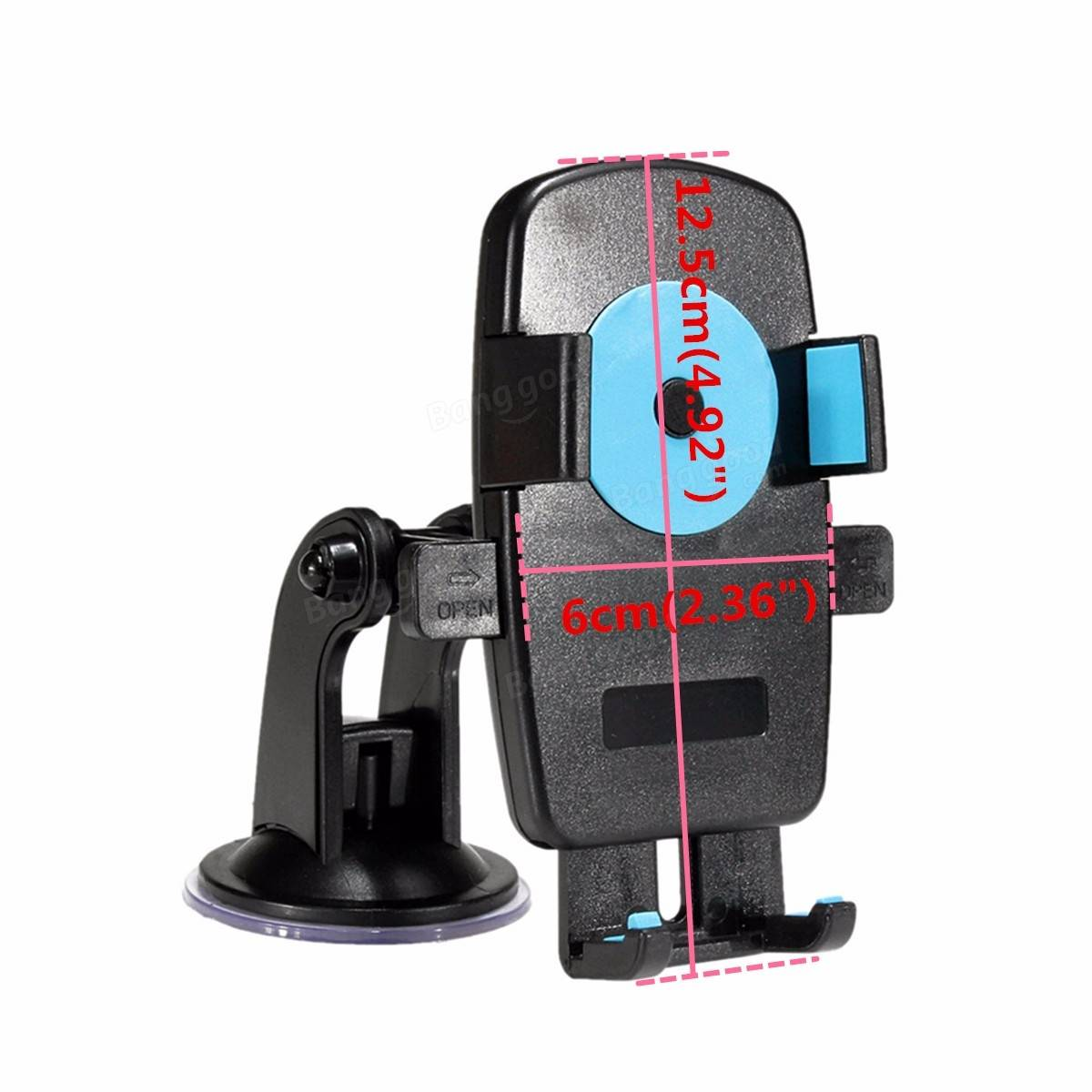360 Degree Car Holder Windshield Mount Bracket Stand Mobile Cell Phone GPS PDA