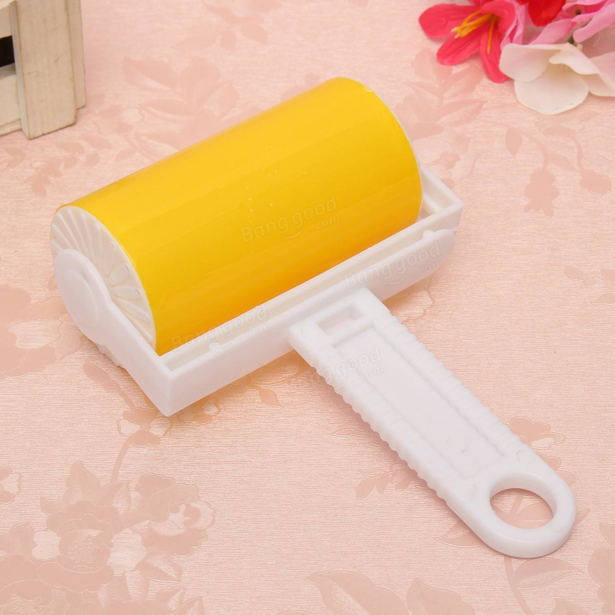 Reuseable clean brush washable sticky hair dust lint remove roller fluff pet carpet clothes at - How to remove lint ...