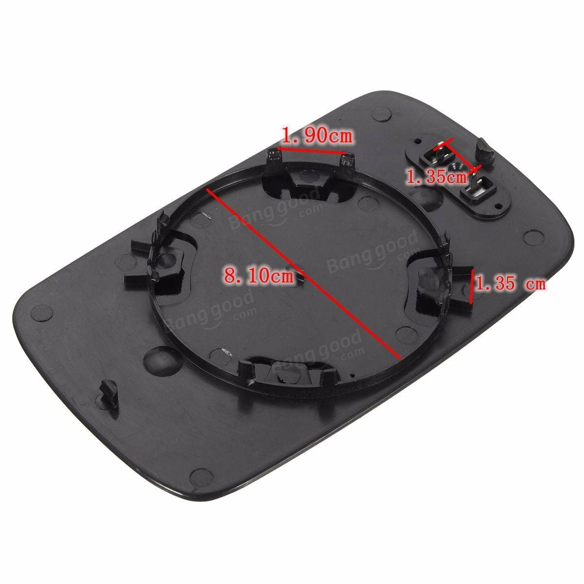New Heated Mirror Left Driver Side Door Glass Plate For BMW E46 98-05 Saloon