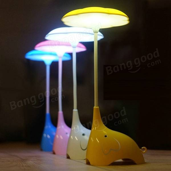 rechargeable dimmable touch sensor led cute elephant shape. Black Bedroom Furniture Sets. Home Design Ideas