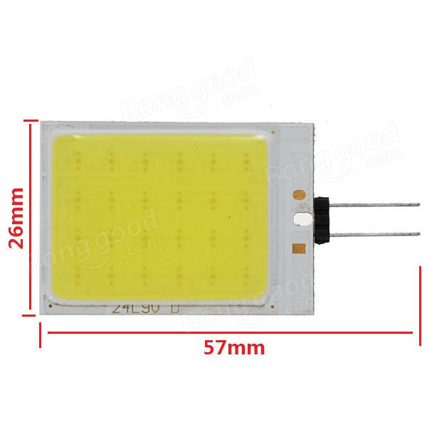 80Lm 6500K 24SMD LED G4 1W Pure White Decoration lighting for Car Yacht Boat Home