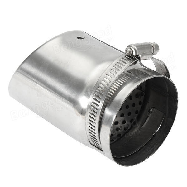 35-65mm ステンレス Exhaust Muffler Pipe Silencer Tip Modification Universal for Car SUV