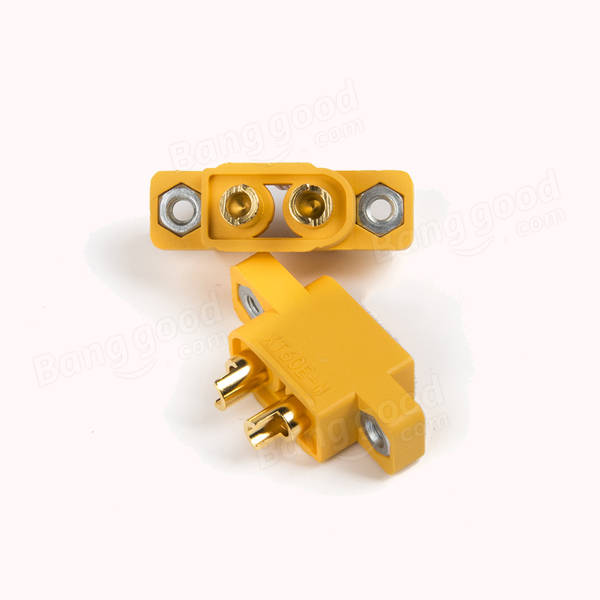 AMASS XT60E-M Mountable XT60 Male Plug for RC Drone FPV Racing