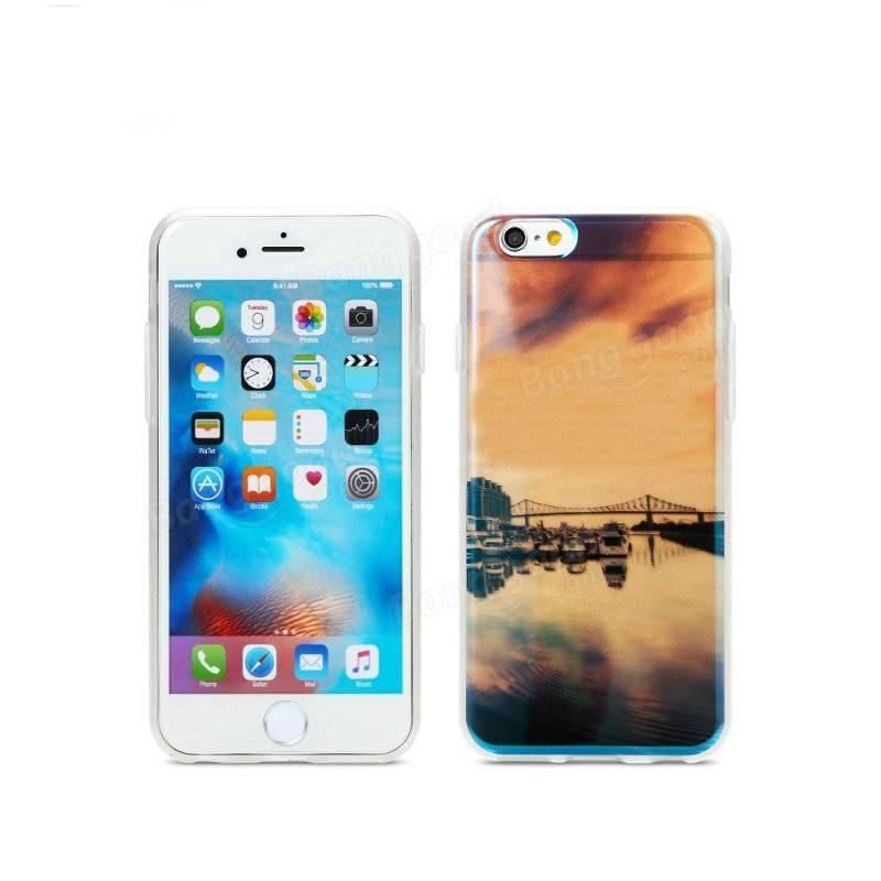 Remax TPU Soft  Semi Transparent Case Back Cover For iPhone 6 Plus 6S Plus 5.5 Inch