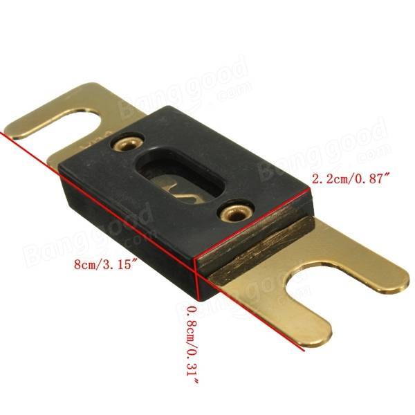 car stereo audio anl fuse gold plated 80a 100a 150a 200a. Black Bedroom Furniture Sets. Home Design Ideas