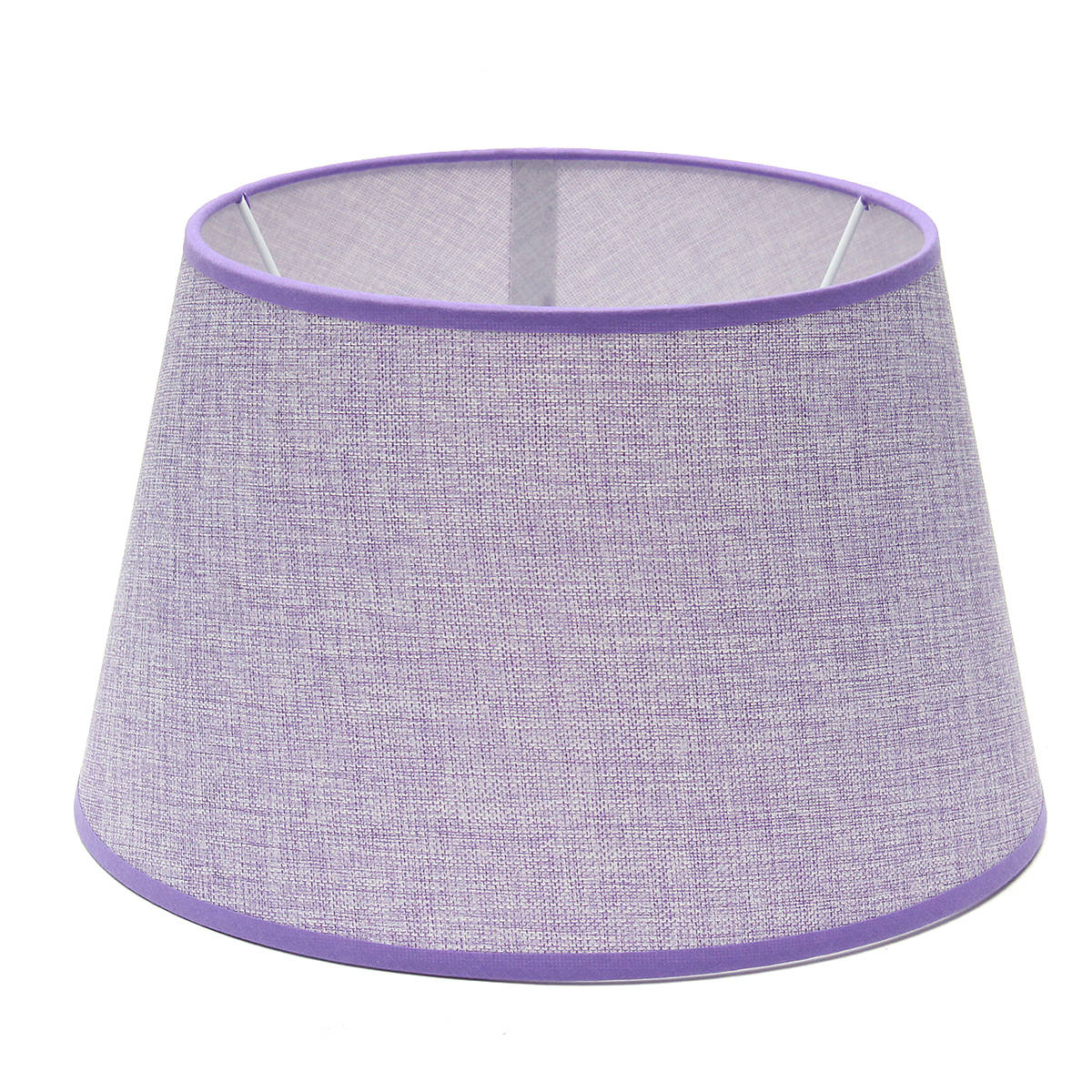 230*300*185MM Ceiling Lamp Shade Table Lampshape Home Cotton Textured Fabric PVC Linen Room