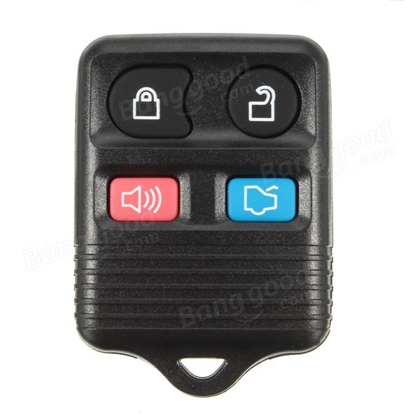 Car Key Keyless Entry Remote Fob 4 Button Transponder Chip 63 for Ford Mercury