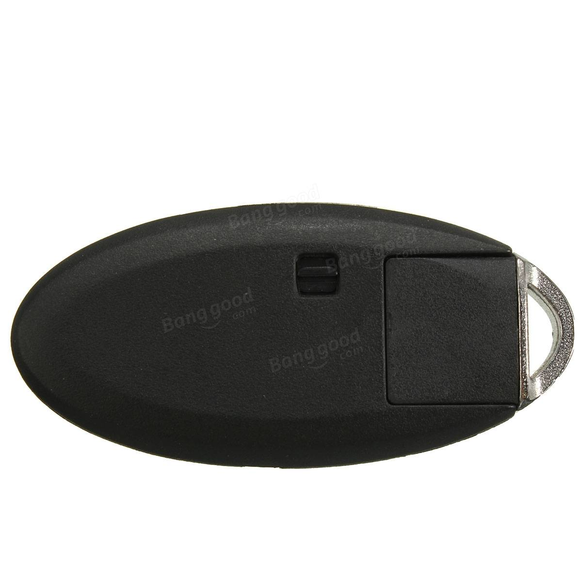 3 Button Uncut Keyless Entry Remote Key Case For Nissan