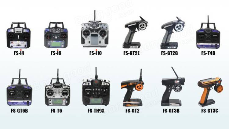 FlySky FS-R6B 2.4Ghz 6CH AFHDS Receiver for fs i6 i10 T6 CT6B TH9x
