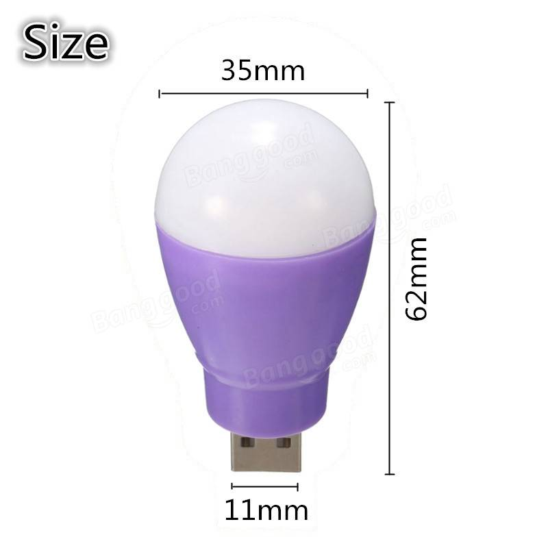 Portable Outdoor 5V 5W USB LED Light Camp Bulb For Hiking Camping For Computer Laptop Power Bank