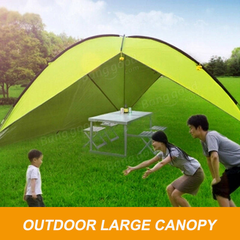 Outdooors Large Single Side Tent Sunshade Canopy Awning