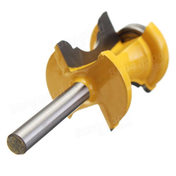 1/4 Inch Shank Bullnose and Cove Trim Molding Router Bit Woodworking Cutter
