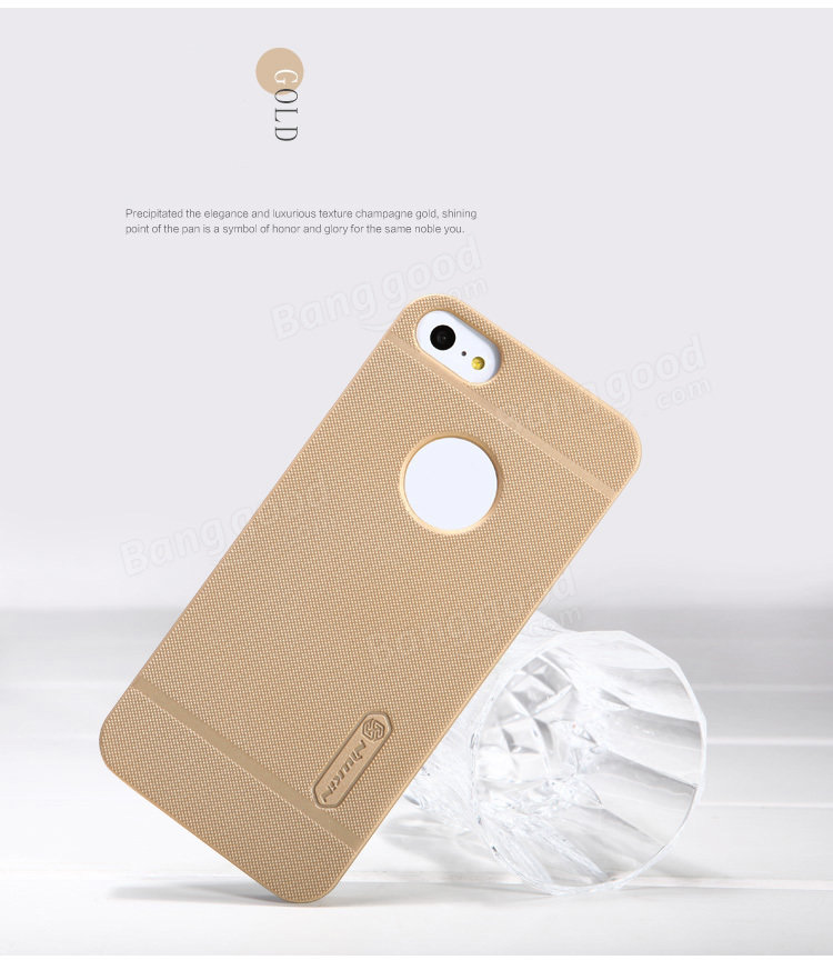 NILLKIN Super Frosted Shield Back Cover Case For iPhone SE/ 5/ 5S